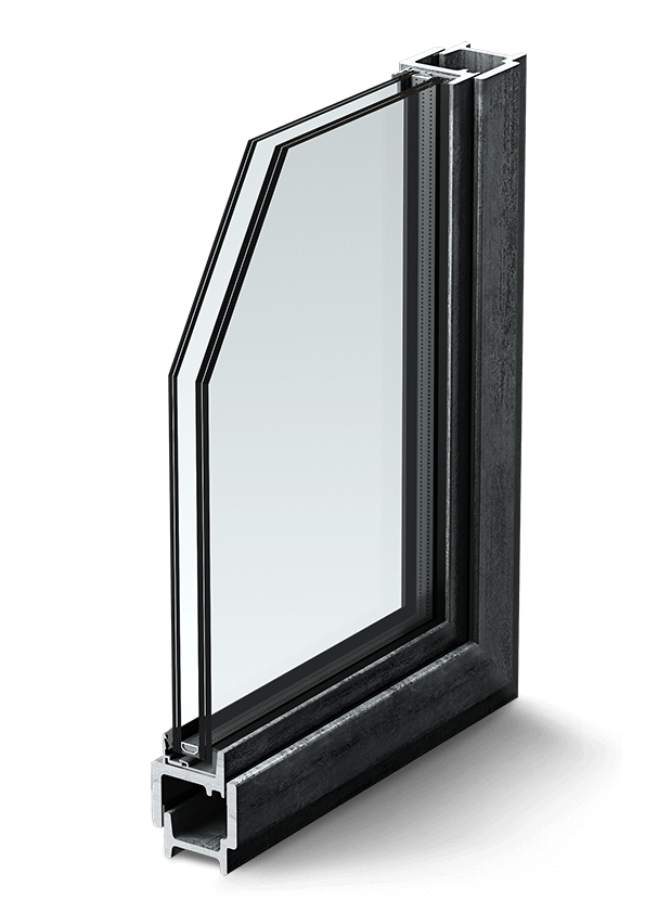Traditional Slim Steel Windows and Doors - Wellborn   Wright