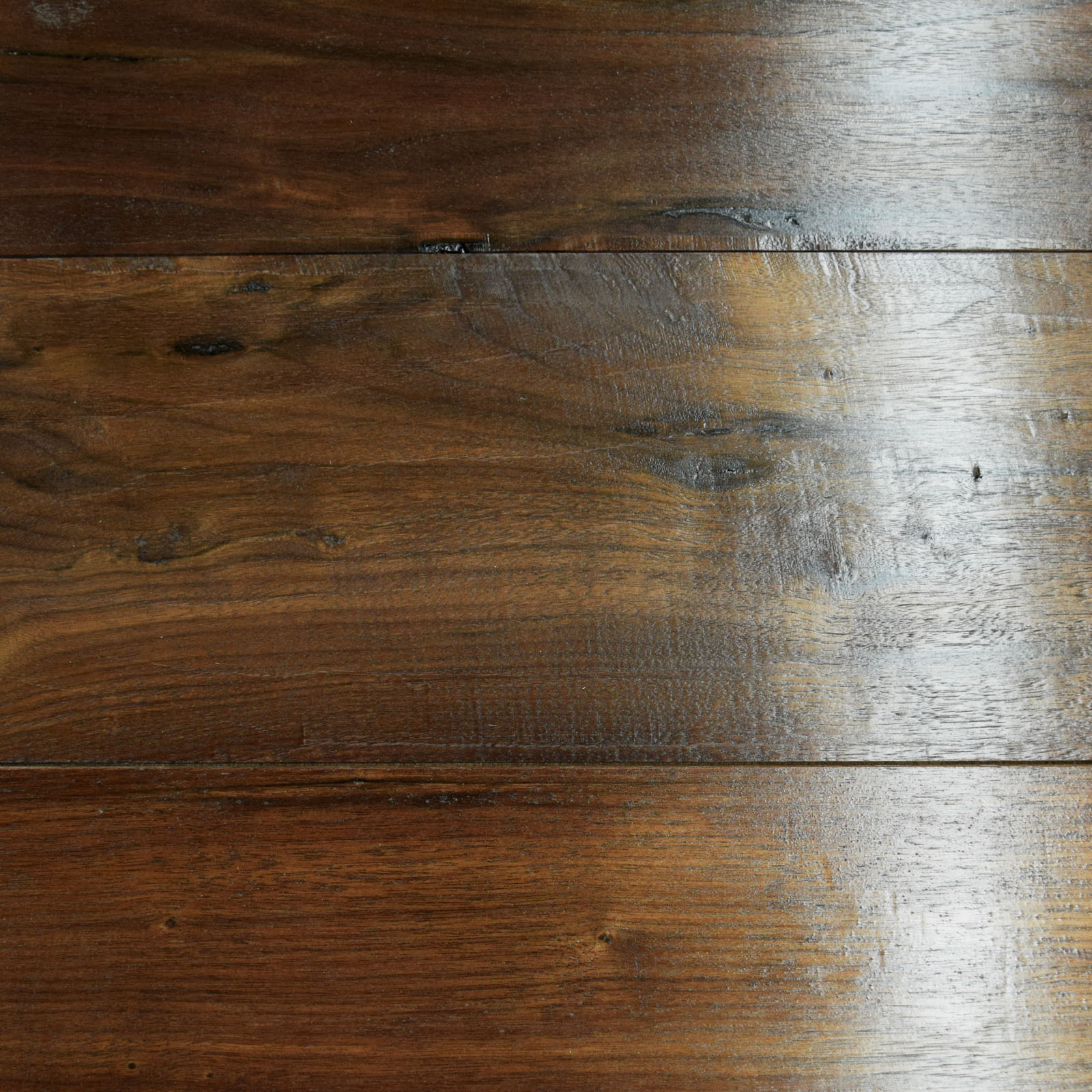 Walnut Handscrape Flooring - Wellborn + Wright