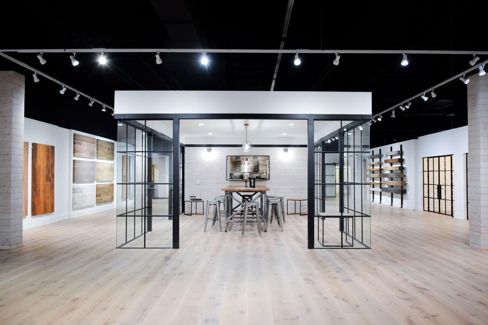 Wellborn + Wright showroom in Richmond. Virginia